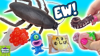Download Cutting Open Huge Cockroach Squishy Toy! Homemade Bug Slime! Mesh Ball Doctor Squish Video