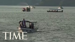 Download Tourist Boat Sinks In Colombia: At Least Six Dead And 31 Missing From 160 Passenger Boat   TIME Video