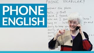 Download Real English: Speaking on the phone Video