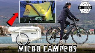 Download 8 Micro Campers and Outdoor Accommodations: Entry Level Camping You Can Afford Video