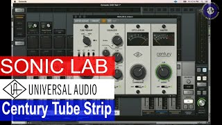 Download Sonic Lab: UAD Century Tube Channel Strip Plug-in Video