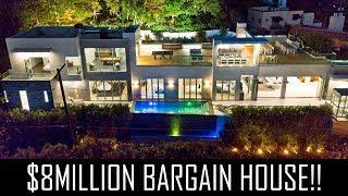 Download $8MILLION BARGAIN HOLLYWOOD MANSION! Video