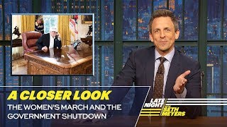 Download The Women's March and the Government Shutdown: A Closer Look Video