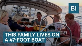 Download Family Has Been Sailing Around The World Non-Stop For 9 Years Video