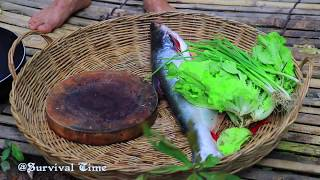 Download Amazing!! A lot of Baby Fish in Big Fish Stomach and then Cook Fish Eating Delicious Video