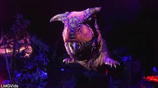Download [4K] Dinosaur Thrill Ride 2018 - Disney's Animal Kingdom WDW (Extreme Low Light) POV Video