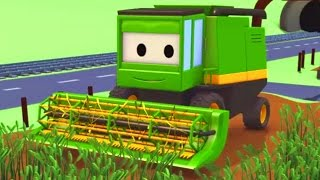Download Harvey the Harvester and his friends in Car City: Tom the Tow Truck, Troy the Train and more Trucks Video