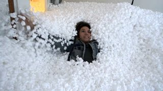 Download 5000$ PACKING PEANUT PRANK DESTROYS OUR HOUSE!! Video