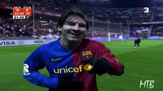 Download The Day Messi Was Applauded by Sevilla Fans After A Crazy Entertaining Performance ► 2008/2009 Video