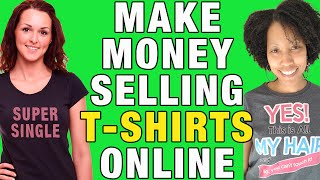 Download How I Make Money With a Free T-Shirt Business & Spreadshirt Video
