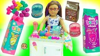 Download American Girl Milkshake Set, Scented Goo, Smiggle Erasers , Num Noms Surprise Blind Bags Video