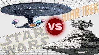 Download USS Enterprise-D vs Imperial II Star Destroyer | Star Trek vs Star Wars: Who Would Win Video