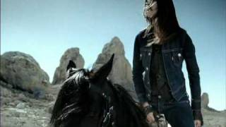 Download Levi's Jeans Commercial - Woman on horse jumping over a Train Video
