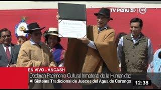 Download Entregan declaratoria como Patrimonio Cultural de la Humanidad al Sistema de Jueces de Agua Video