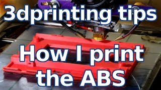 Download 3d printing tips - How I Print the ABS without adherence problem - Ita sub EN Video