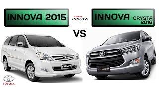 Download Toyota Innova CRYSTA (2016) vs INNOVA (2015): Specs comparison Video