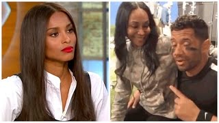 Download Disrespect? Ciara's Best Friend Spotted Sitting in Russell Wilson's Lap! Video