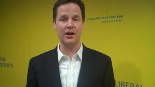 Download Nick Clegg on the Digital Economy Bill Video