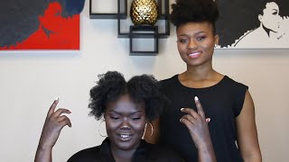 Download Natural Hair Specialist Styles My Hair + TIPS, etc.-WHAT DID WE LEARN?? Episode 2 Video