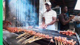 Download Street Food in Madagascar's Biggest City!!! Zebu Meat Heaven! Video