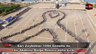 Download Sarı Zeybekler 1094 Gönüllü İle Bir Akdeniz Bölge Rekoru Daha Kırdı 22 Ekim 2018 8gunhaber 1 Video