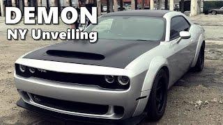 Download Dodge Challenger SRT Demon New York Unveiling (Must Watch!) Video