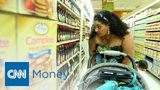 Download Feeding a family on a food stamp budget Video