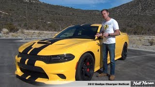 Download Review: 2017 Dodge Charger Hellcat - The 707 HP Family Sedan! Video