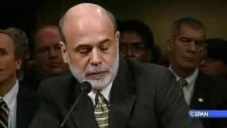Download Treasury Sec. Paulson at Senate Banking Hearing Video