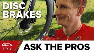 Download What Do Professional Cyclists Really Think About Disc Brakes? | GCN Tech At The Tour Down Under Video
