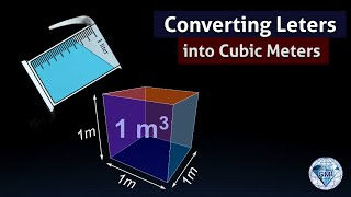 Download Convert Liters to cubic meters 1 L is 1000 cm cube measurements Video