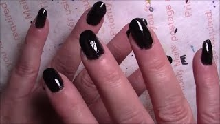 Download Nail Time - White Glue Base Coat and Black Polish Video