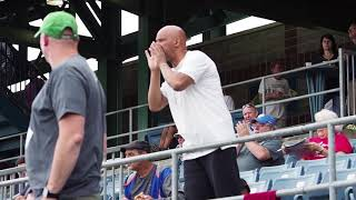 Download Heckler entertains at Syracuse Chiefs' games Video