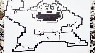 Download Como dibujar a donkey Kong pixelado | how to draw donkey kong Video
