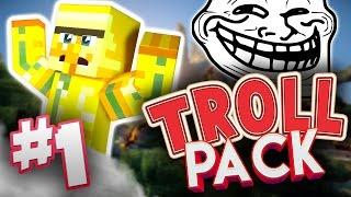 Download LET THE TROLLING BEGIN - TROLL PACK - Minecraft Trolling modpack Video
