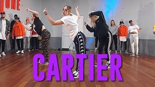 Download Dopebwoy ″CARTIER″ ft. Chivv & 3robi | Duc Anh Tran Choreography Video