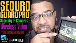 Download #Sequro GuardPro DIY Surveillance System 📹 : #LGTV Review Video