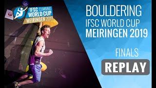 Download IFSC Climbing World Cup Meiringen 2019 - Bouldering Finals Video