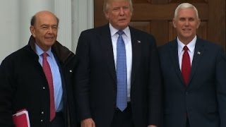 Download Raw: Wilbur Ross Tapped for Commerce Secretary Video