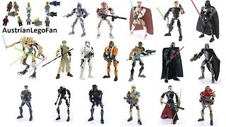 Download All Lego Star Wars Buildable Figures - Complete Collection - Lego Speed Build Review Video