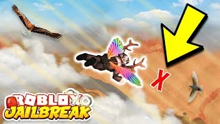 Download ROBLOX JAILBREAK SKYDIVING USING ROCKET FUEL GONE WRONG Video