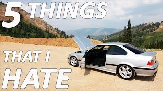 Download 5 THINGS I HATE About The E36 M3 **I Should Have Bought a 350z** Video