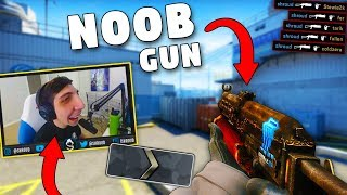 Download CS:GO - When PROS use SILVER GUNS!! ft. Shroud, GeT RiGhT, olofmeister & More! Video