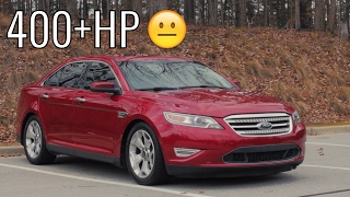 Download 400HP Ford Taurus SHO Car Review! - Acceleration of a Sleeper! Video