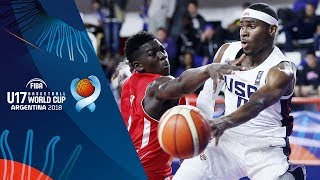 Download United States v Mali - Full Game - FIBA U17 Basketball World Cup 2018 Video