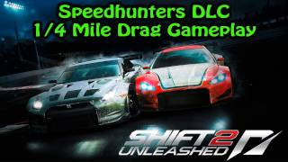 Download SHIFT 2: Unleashed PS3 - Speedhunters DLC - 1/4 Mile Drag Gameplay Video