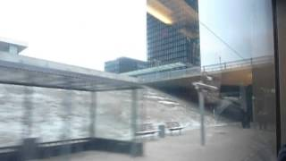 Download Train ride from Copenhagen Airport - Copenhagen Central Station. Video
