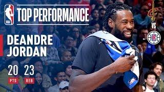 Download DeAndre Jordan Puts Up 20 Points & 23 Rebounds! Against The Cavaliers Video