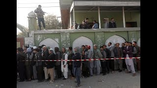 Download Millions vote in Afghanistan's long-delayed election Video