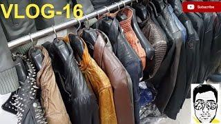 Download LEATHER JACKET MARKET/LIVE-FACTORY(exploring-bikers,coats,boots,purses)DELHI | gaurav sharma\vlog16 Video
